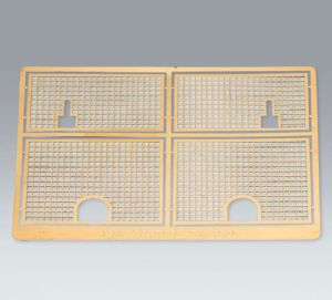 Taigen photo-etch grills for Heng Long Tiger 1 1/16 scale